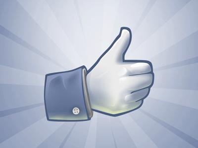 Facebook Like icon !