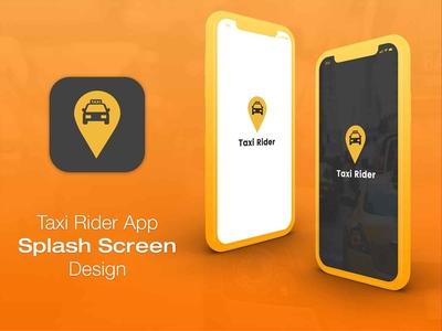 Taxi App Splash Screen