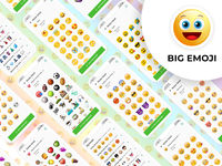 Big Emoji App Design