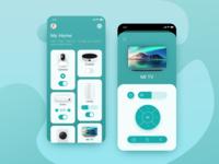 MIJIA smart home UI redesign