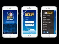 Address Blast App