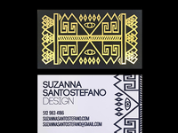 Interior Design Business card