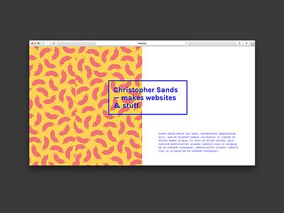 Portfolio Concept portfolio