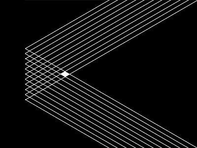 Criss abstract black illustration