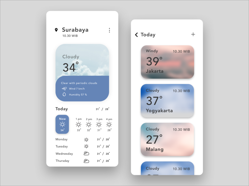 Weather App weather app