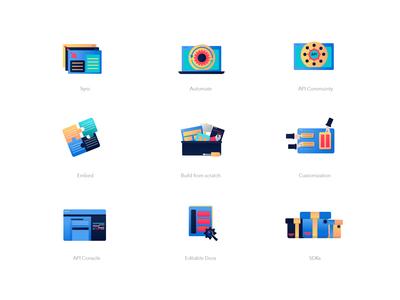 Vibrant Icons