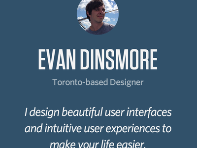 Personal Website Refresh