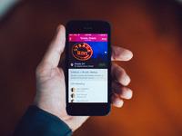 Dribbble app photo