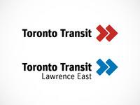 Toronto Transit Identity