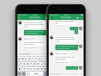 google hangout iphone hangouts for iphone redesign by evan dinsmore 10727