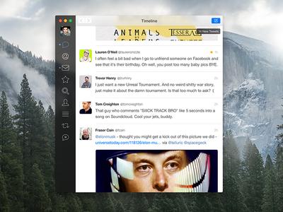 Tweetbot for Mac Redesign