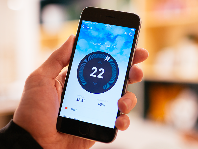 Nest for iPhone Redesign ui app ux interface iphone ios mobile redesign nest navigation concept