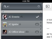 Custom iPad UI