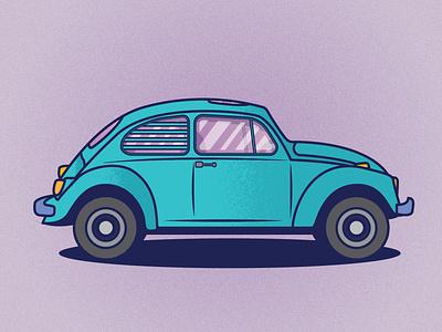 Volkswagen Beetle adobeillustrator design illustration
