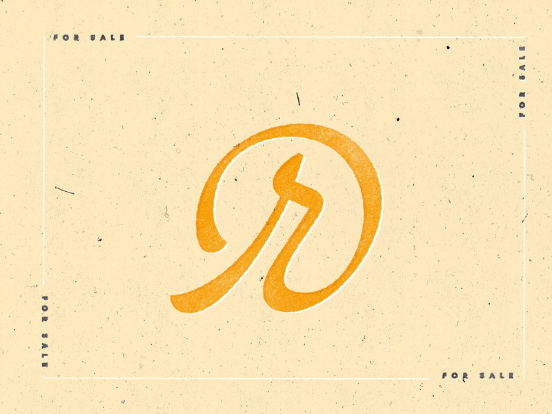 r.at typogaphy type sript logo for sale logotypes logotype letter r symbol circle swash serif contrast handmade vector bezierclub lettercollective custom lettering