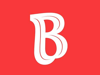 BBB vector lettering brush 36daysoftype05 36daysoftype 36days-b