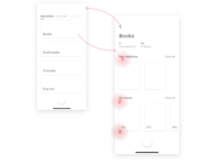 Victoria - Wireframes: Archives