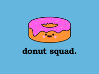Donut Squad - Logo