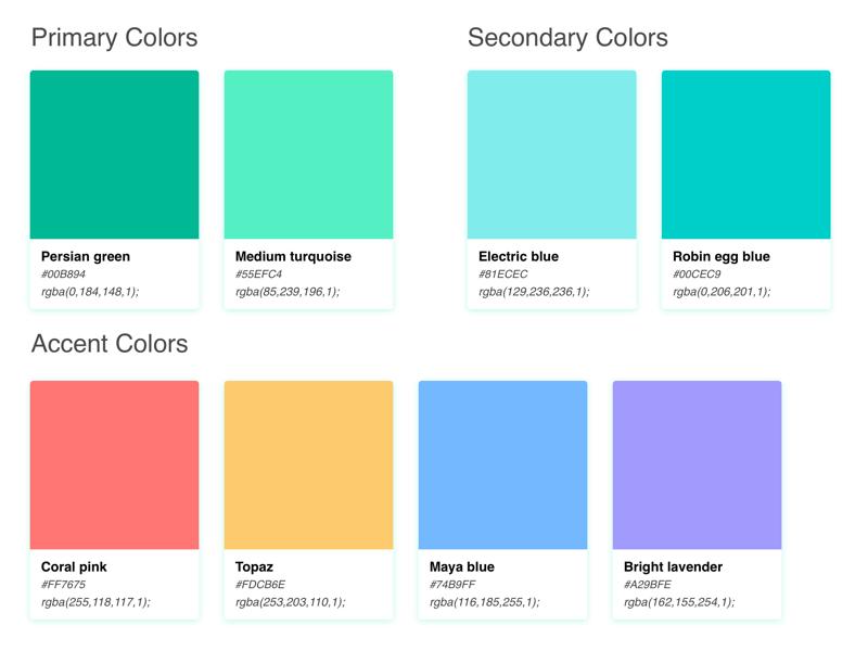 Ecogrid - Color Palette by Anshuman Dhar on Dribbble