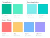 Ecogrid - Color Palette