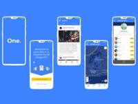 OneStop - Key Screens