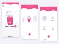 ShakeMe App - Screen Samples