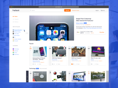 Heleot: a new video platform for sharing product experiences