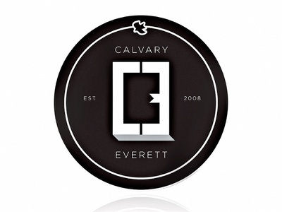 CE seattle typography logo designer logo design debut calvary chapel logotype identity branding badge emblem logo