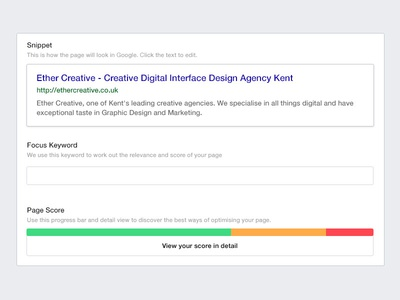 SEO for Craft CMS preview field seo