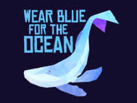 March for the Ocean Messaging Stickers