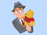 Christopher Robin iOS Stickers