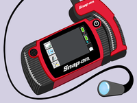 Snap-On Messaging Sticker