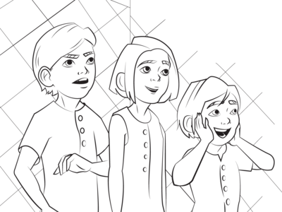 Mary Poppins Returns Coloring Page