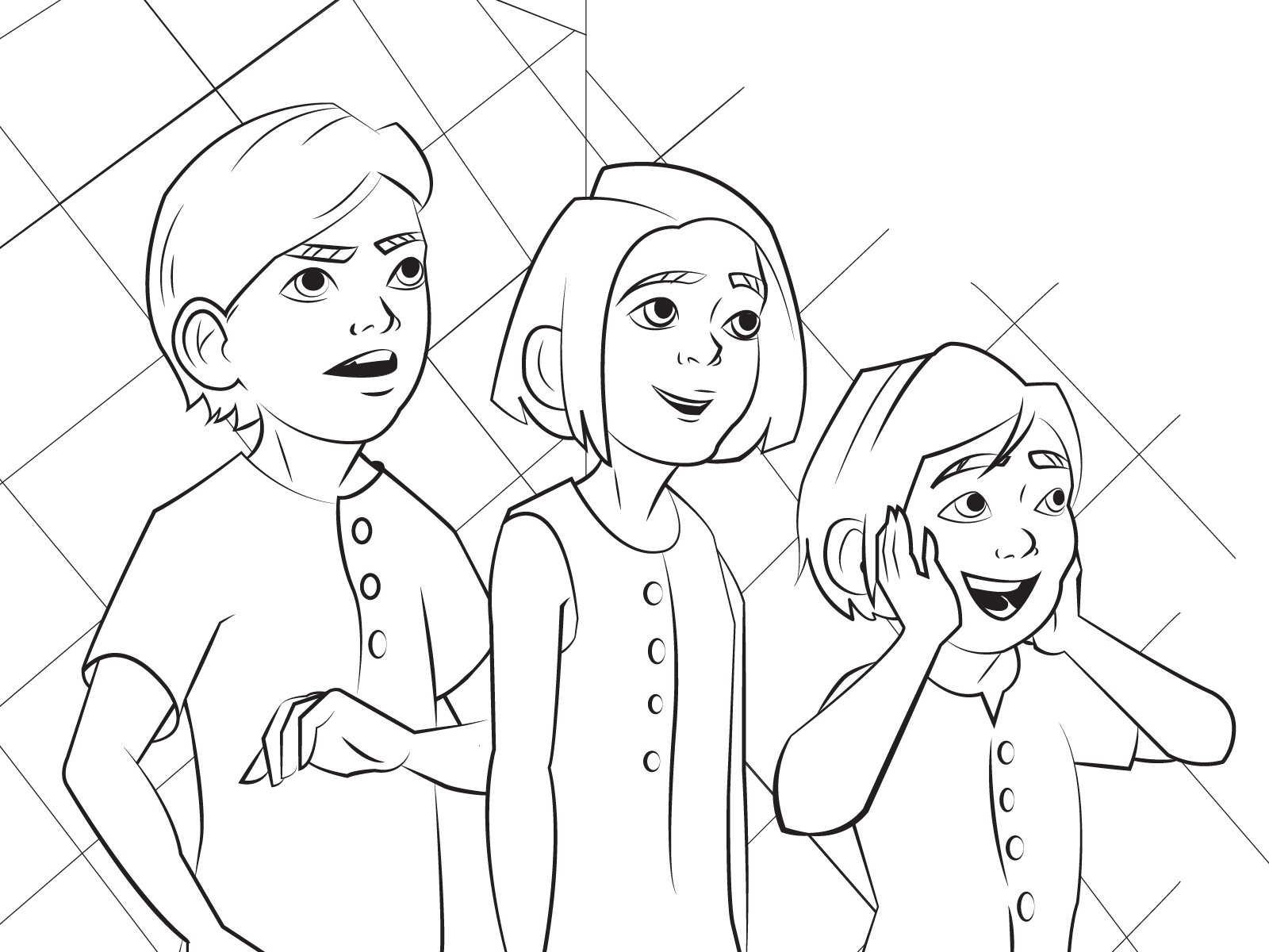 Mary Poppins Returns Coloring Page by Bare Tree Media ...