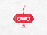A robot...