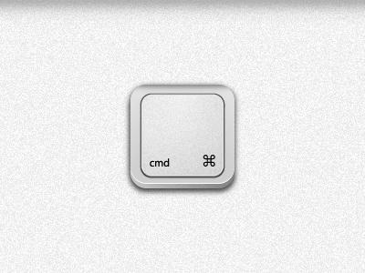 Cmd Keyboard Icon Pressed