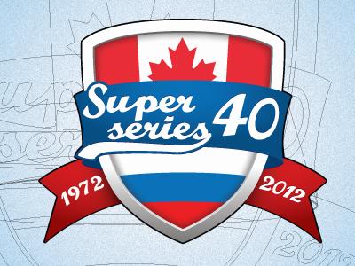 40 years hockey Super Series Rus - Can