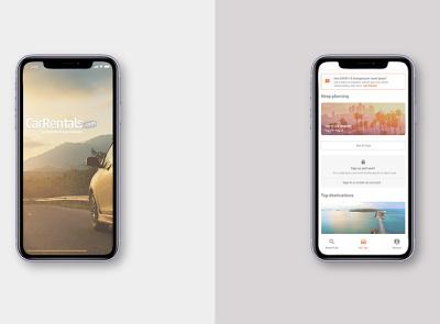 Expedia - CarRentals.com motion design ui design ux design user experience product design product mobile websites ux