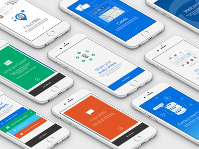 Glympse App UX Screens ui product design ux glympse