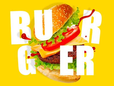 Burger type hamburger