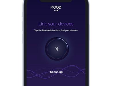 Smart Home App - Mood smart home apps mobile apps mobile digital ui ux product design app smart home