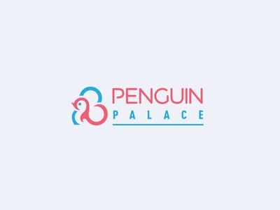 Penguin Palace logo logo design