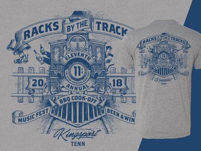 Racks by the Tracks - Main Event T-Shirt