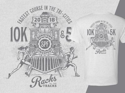 Racks by the Tracks - Race T-Shirt