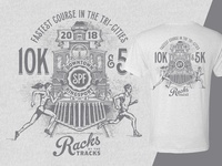Racks by the Tracks - Race T-Shirt