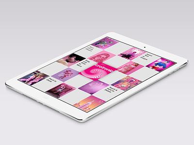 Bloks.io - Portfolio, Moodboards & Visual Notes ui ux ios images portfolio moodboards ipad app moodboard notes