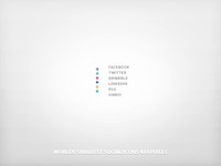 Worlds Tiniest Social Icons...