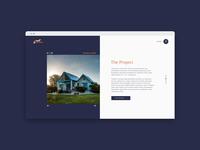 Real Estate -  Project Slider Module Web