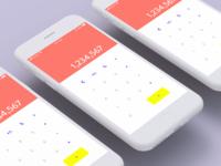 Daily UI 03: Calculator