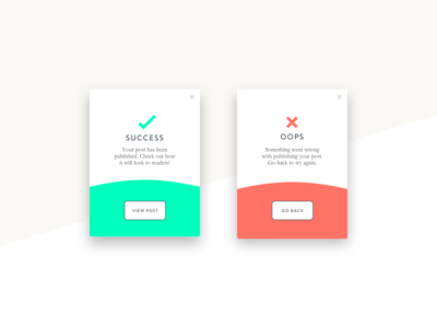 Daily UI 11: Flash Message flash messaging modals dailyui